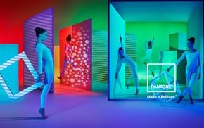 dancing, colorful, color wheel, artificial lights, dancer, digital lighting
