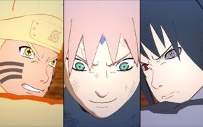 Haruno Sakura, Uzumaki Naruto, Naruto Shippuuden, Uchiha Sasuke