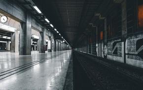 railway, subway