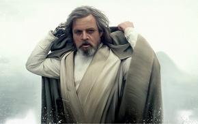Luke Skywalker, Jedi, Mark Hamill, fan art, Star Wars