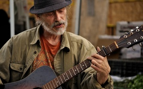 old people, men, music