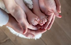 hands, feet, baby