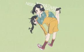 Monogatari Series, Araragi Karen, anime girls, blushing, kimono, anime