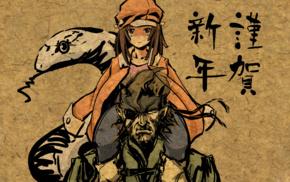video games, anime, Monogatari Series, Sengoku Nadeko, Metal Gear Solid, anime girls