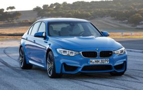 race tracks, BMW M3, car, vehicle, blue cars