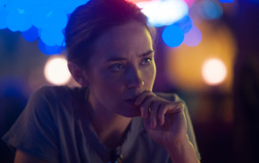 celebrity, Emily Blunt, actress, face, Sicario, girl