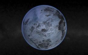 space, Pluto
