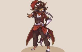 pirates, furry, Anthro