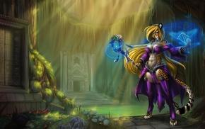 magic, fantasy art, furry, fantasy armor, Anthro