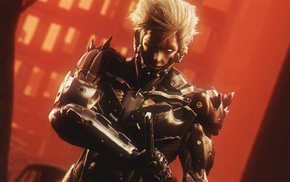 video games, artwork, Metal Gear Rising Revengeance