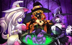 Anthro, magic, furry