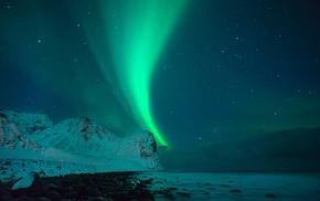 Aurora, sky