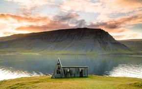 cabin, nature