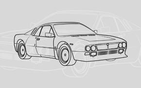 illusions, rally cars, car, vector, Rally