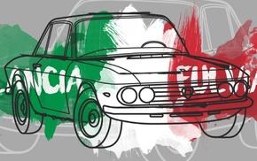illusions, Rally, car, vector, rally cars