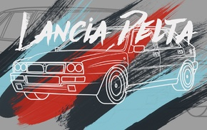 rally cars, vector, car, illusions, Rally