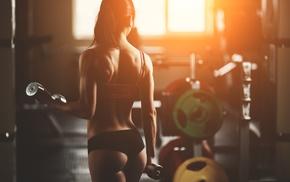 fitness model, model, sports, girl