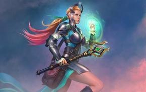 Juggernaut wars, fantasy art, warrior, artwork