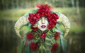 fantasy art, girl, model