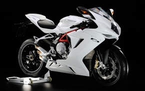 black background, MV agusta, motorcycle, MV Agusta f3 800
