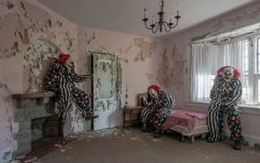 horror, clowns