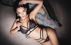 armpits, Angelina Petrova, ass, looking at viewer, sensual gaze, model