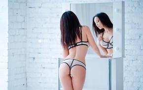 ass, the gap, lingerie, back, girl, Angelina Petrova