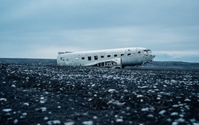 aircraft, wreck, Douglas DC, 3