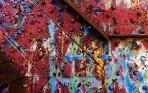 metal, texture, rust