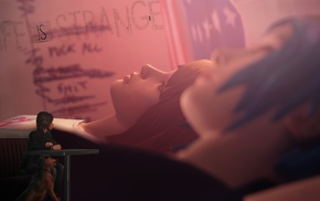 peace, Max Caulfield, video games, Life Is Strange, Chloe Price