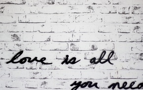white, monochrome, lyrics, music, black, wall