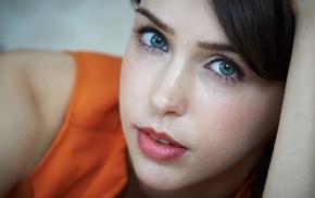 Stefanie Joosten, girl, green eyes
