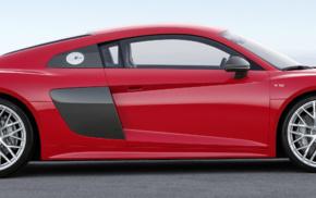 vehicle, multiple display, dual monitors, Audi R8, car, Super Car