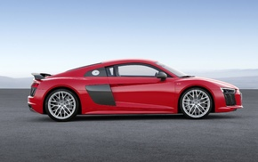 vehicle, Super Car, car, red cars, Audi R8