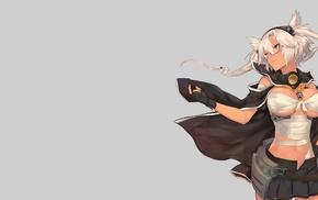 Musashi KanColle, Kantai Collection, bandage, anime girls, anime, gloves