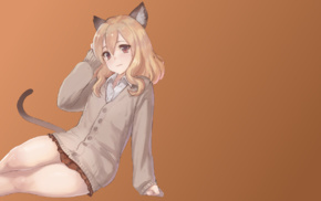 nekomimi, animal ears, anime girls, cat girl, anime, original characters
