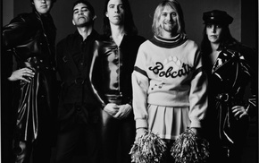 cheerleaders, legends, Pat Smear, Krist Novoselic, Nirvana, crossdressing