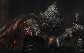 artwork, video games, armor, knight, warrior, Dark Souls