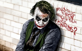 Heath Ledger, Joker, actor