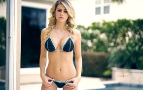 bikini, cleavage, holding panties, girl, Enigma Fotos, bra
