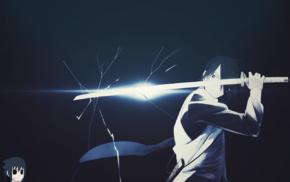 sasuke the last, sword, katana, anime boys, naruto the last, anime