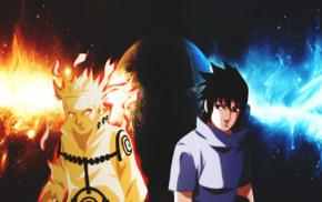 Naruto Shippuuden, Uzumaki Naruto, Uchiha Sasuke