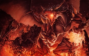 original characters, dragon