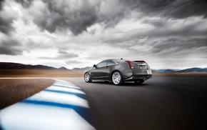 HDR, car, Cadillac CTS, V