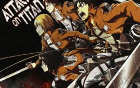 Armin Arlert, Mikasa Ackerman, Eren Jeager, Shingeki no Kyojin, Levi Ackerman