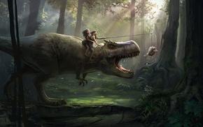 T, Rex, prehistoric, humor