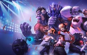 Nunu, League of Legends, Shen League of Legends, Mundo, Orianna, Ezreal