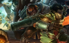Twisted Fate, Graves, League of Legends