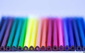 photography, pens, colorful, macro, photographer, rainbows