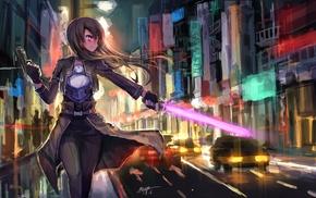 Kirigaya Kazuto, Sword Art Online, Gun Gale Online, anime